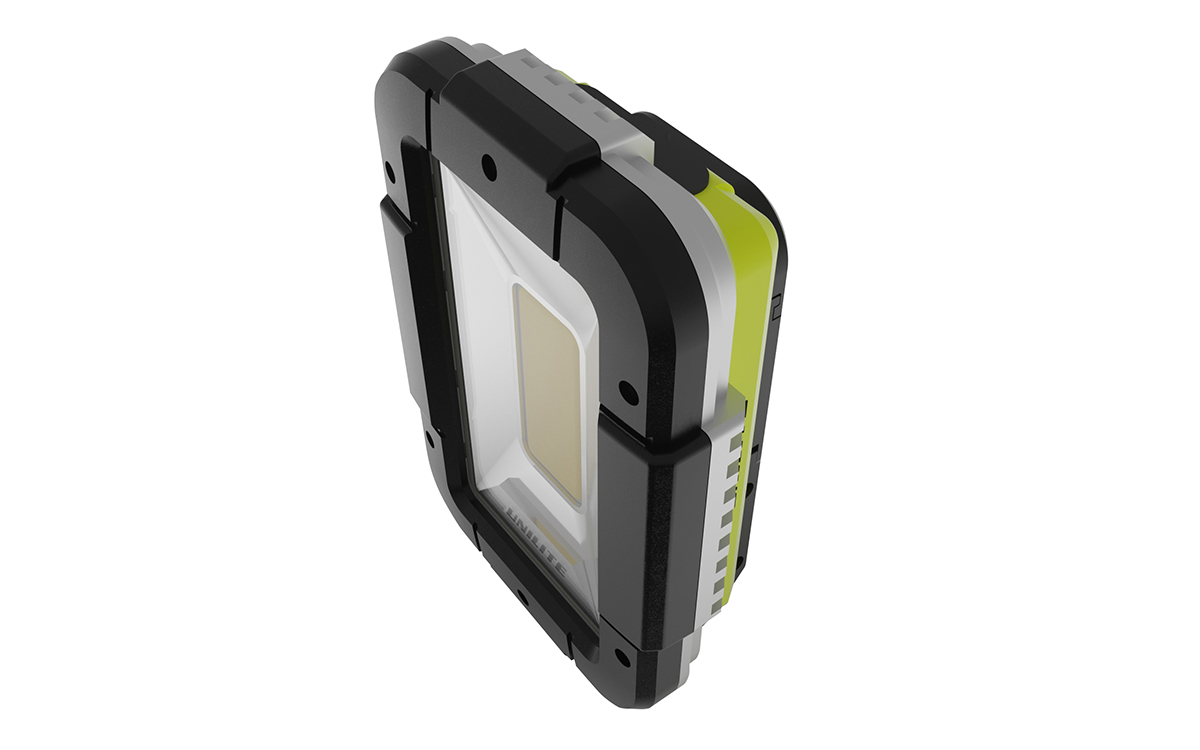 SLR-1750 - Портативная  LED лампа 1750 Lm, 10400 mAh, IPX5, POWER BANK | UNILITE: фото 3