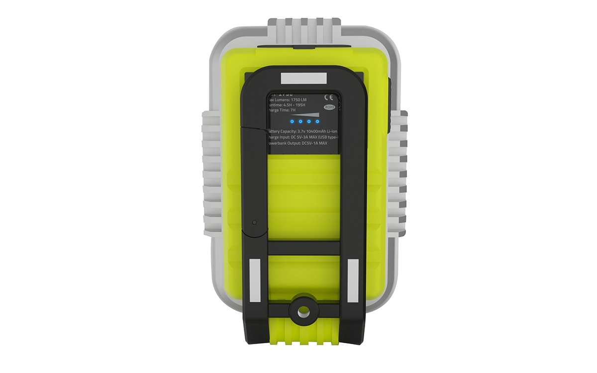 SLR-1750 - Портативная  LED лампа 1750 Lm, 10400 mAh, IPX5, POWER BANK | UNILITE: фото 6